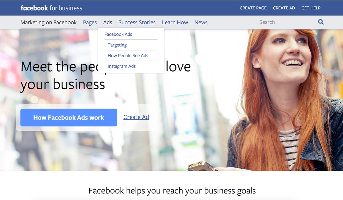 Facebook Microsite Example